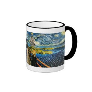 Edvard Meets Vincent Ringer Mug