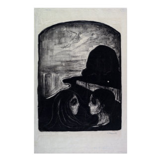 Edvard Munch Attraction I Poster