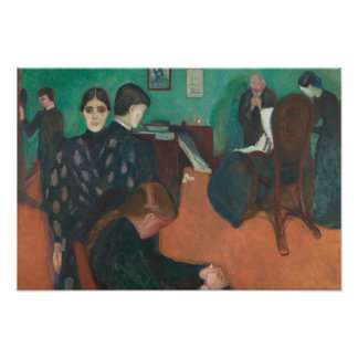 Edvard Munch - Death in the Sickroom Photograph