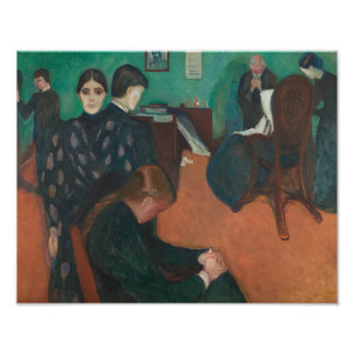 Edvard Munch - Death in the Sickroom Photographic Print