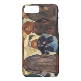 Edvard Munch - Four Girls in Asgardstrand iPhone 7 Case