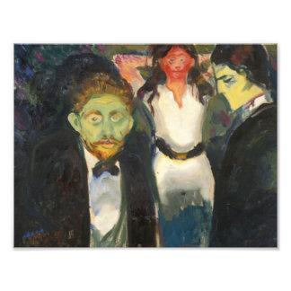 Edvard Munch - Jealousy Photo Print