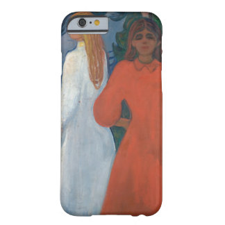 Edvard Munch - Red and White Barely There iPhone 6 Case