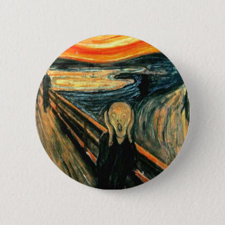 Edvard Munch - Scream 6 Cm Round Badge