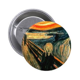 Edvard Munch - Scream 6 Cm Round Badge