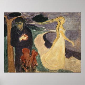 Edvard Munch - Separation Poster