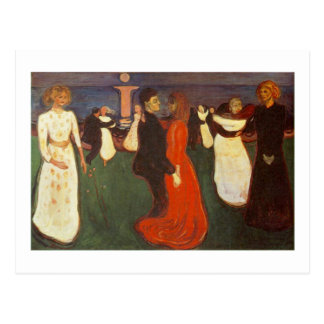 Edvard Munch - The Dance Of Life Postcard