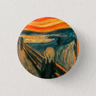 EDVARD MUNCH - The scream 1893 3 Cm Round Badge