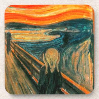 EDVARD MUNCH - The scream 1893 Coasters