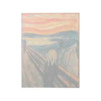 EDVARD MUNCH - The scream 1893 Notepad