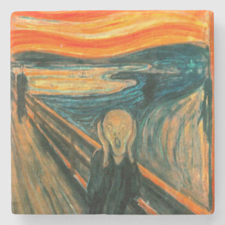 EDVARD MUNCH - The scream 1893 Stone Coaster