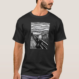 Edvard Munch The Scream Lithography T-shirt