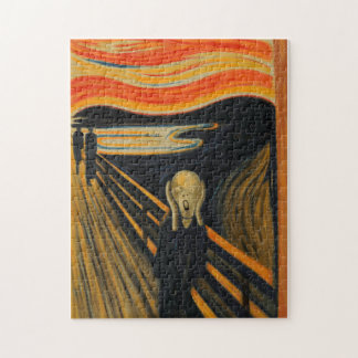 Edvard Munch - The Scream Puzzles
