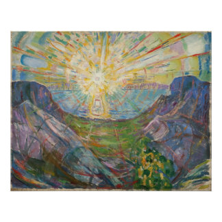 Edvard Munch - The Sun, 1916 Poster