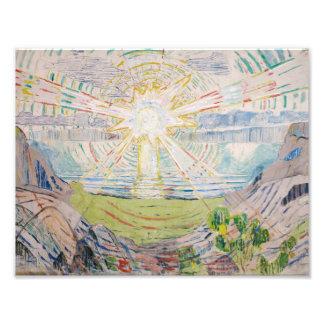 Edvard Munch - The Sun Photograph