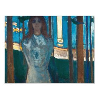Edvard Munch - The Voice , Summer Night Photo Print
