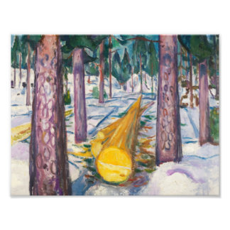 Edvard Munch - The Yellow Log Photographic Print