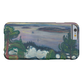 Edvard Munch - Train Smoke Barely There iPhone 6 Case