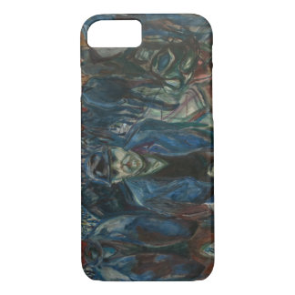 Edvard Munch - Workers on their Way Home iPhone 7 Case