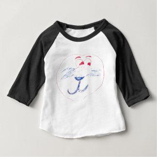 Edward American Apparel 3/4 Sleeve Raglan T-Shirt