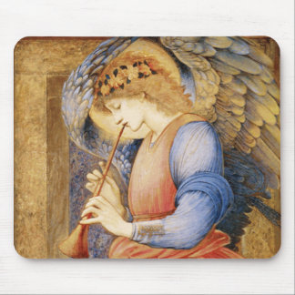 Edward Burne-Jones - An Angel Playing a Flageolet Mouse Pad