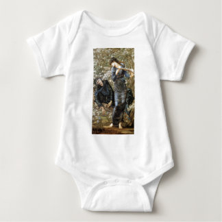 Edward Burne-Jones Beguiling of Merlin Baby Bodysuit