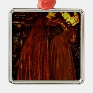 Edward Burne-Jones- Clerk Saunders Ornament