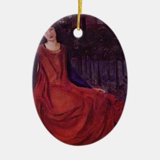 Edward Burne-Jones: Girl and Goldfish Ornament