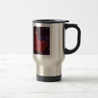Edward Burne-Jones: Girl and Goldfish Coffee Mugs