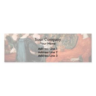 Edward Burne-Jones- Laus Veneris Business Card Templates