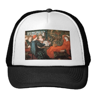 Edward Burne-Jones- Laus Veneris Mesh Hats