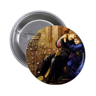 Edward Burne-Jones- Love Among the Ruins Pins