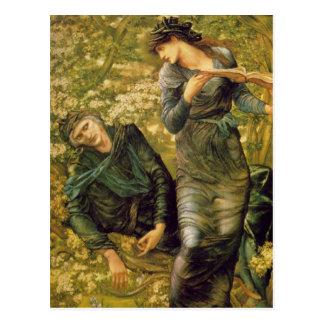 Edward Burne-Jones - Merlin GC Postcards