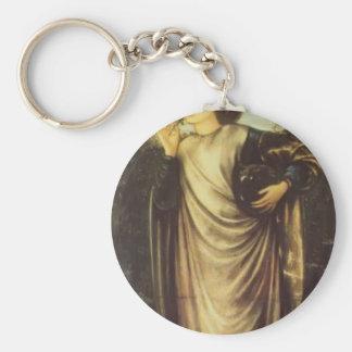 Edward Burne-Jones Morgan Le Fay Keychain