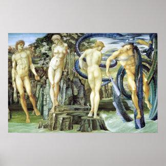Edward Burne-Jones Perseus and Andromeda Poster