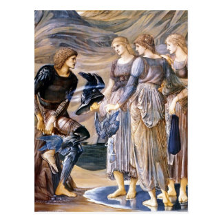 Edward Burne-Jones- Perseus and the Sea Nymphs Postcards