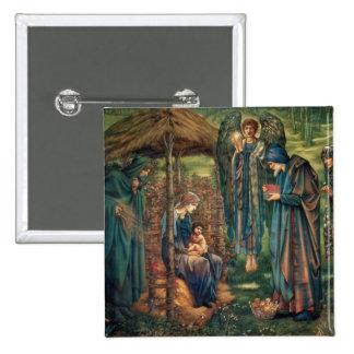 Edward Burne-Jones Star of Bethlehem Buttons