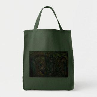 Edward Burne-Jones Star of Bethlehem Tote Bags
