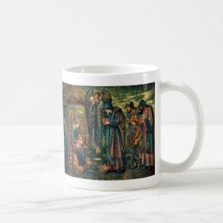 Edward Burne-Jones: Star of Bethlehem Basic White Mug