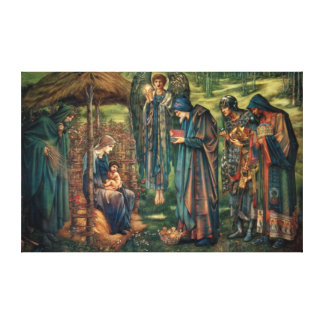 Edward Burne-Jones Star of Bethlehem Stretched Canvas Print