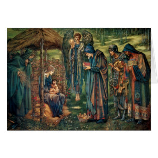 Edward Burne-Jones: Star of Bethlehem Card