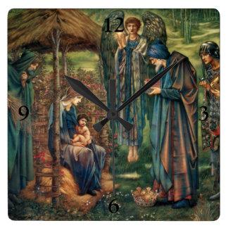 Edward Burne-Jones Star of Bethlehem Wall Clocks