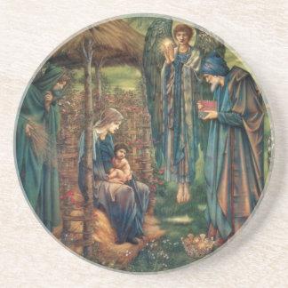 Edward Burne-Jones Star of Bethlehem Beverage Coasters