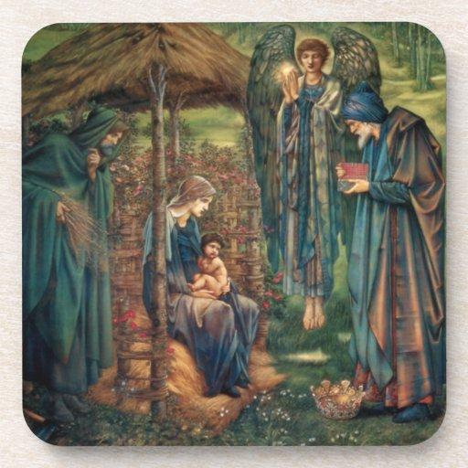 Edward Burne-Jones: Star of Bethlehem Beverage Coaster