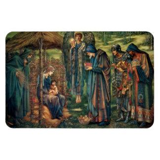 Edward Burne-Jones: Star of Bethlehem Rectangular Photo Magnet
