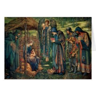Edward Burne-Jones: Star of Bethlehem Greeting Card