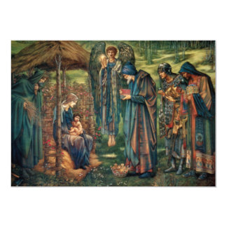 Edward Burne-Jones: Star of Bethlehem 13 Cm X 18 Cm Invitation Card