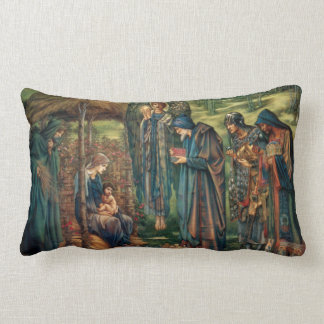 Edward Burne-Jones Star of Bethlehem Throw Pillow