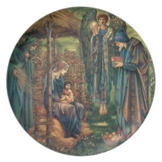 Edward Burne-Jones: Star of Bethlehem Party Plates
