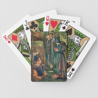 Edward Burne-Jones Star of Bethlehem Poker Cards